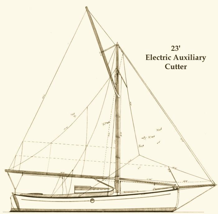 BitterSweet Sail Plan
