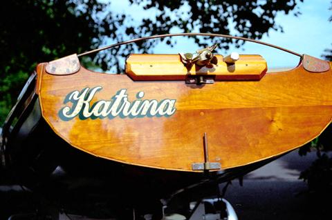 Katrina's transom