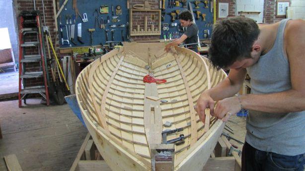 build wood yacht