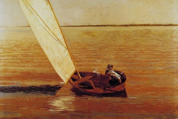 Thomas Eakins - Sailing 1875