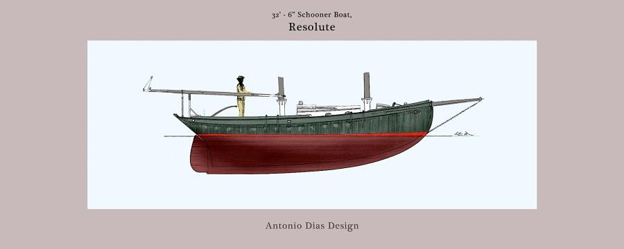 32′ Schooner Boat