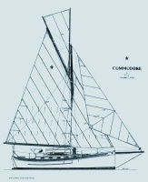 Commodore Sail Plan