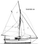 Davies 18 Sail Plan