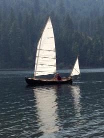 Harrier wilbur larch under sail 540