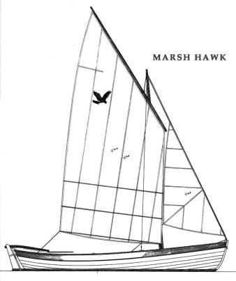 Marsh Hawk, Sloop Rig