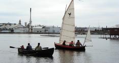 Ran Tan sails away!
