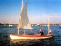 SparHawk under sail