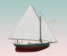 38' Raised Deck Sloop Helen