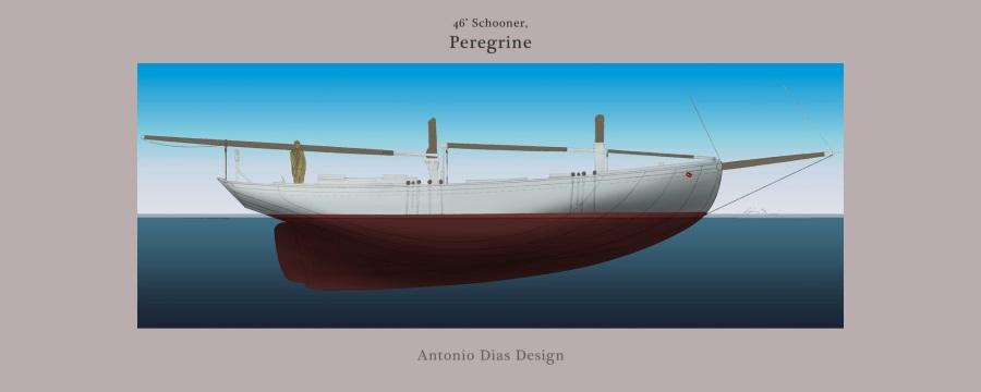 Peregrine, a 46′Schooner