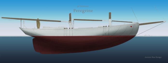 46-schooner-profile