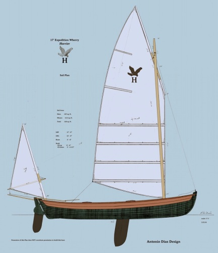 Harrier II Sail Plan