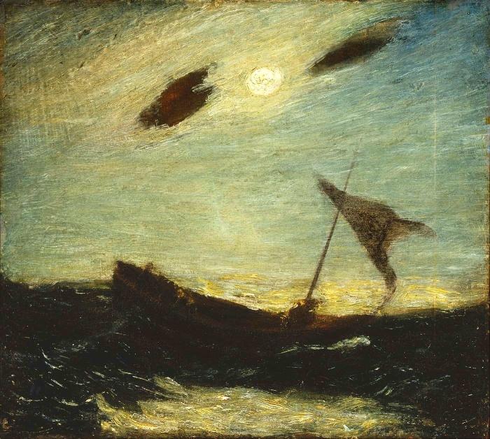 Albert Pinkham Ryder, Moonlight, 1887