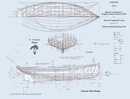 Vixen Kingston Lobster Boat comparison Lines