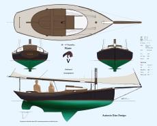 Vixen Outboard Arrangement Illustration